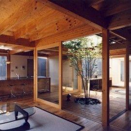 屋外なのに完全プライベート空間~とっておきの中庭事例集~