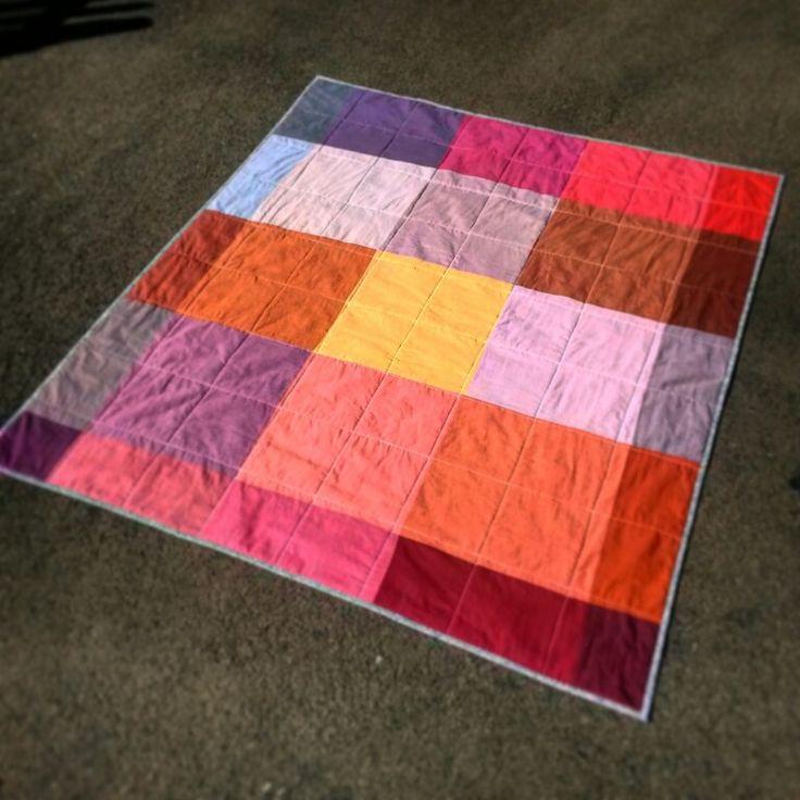 Oaks hottest summer quilt backing.