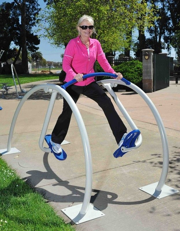 Xccent air stride, exercise equipment, outdoor fitness equipment #fitness #exercise #healthy