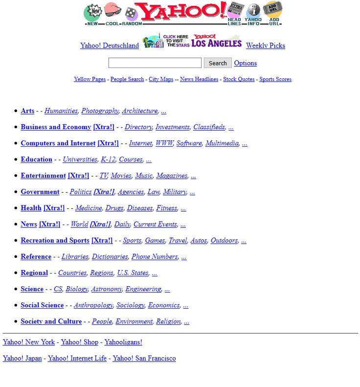 Yahoo 1996