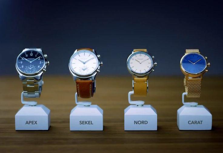 Kronaby lance 4 styles de montres connectées compatibles iOS et Android | Jean-Marie Gall.