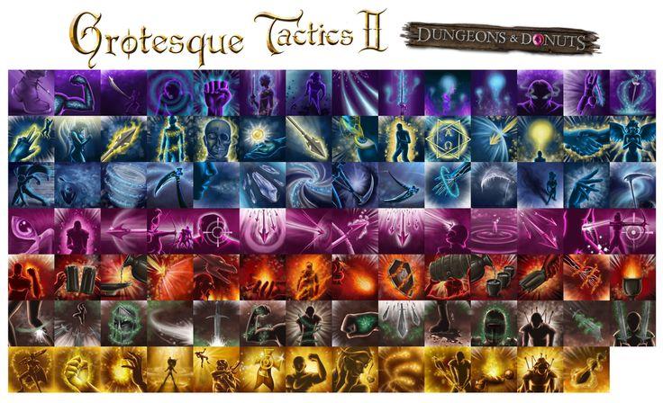 Skill icons by Matshukle