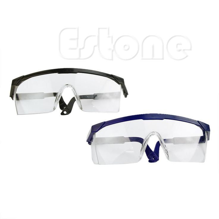 Clear Safety Glasses Goggles Work Industrial Tool Eye Wear Protection Tool