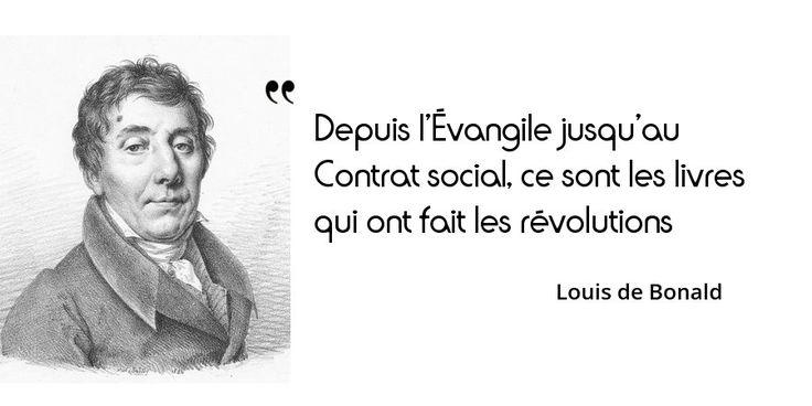 23 novembre 1840 : mort de Louis de Bonald, homme politique, philosophe et essayiste français