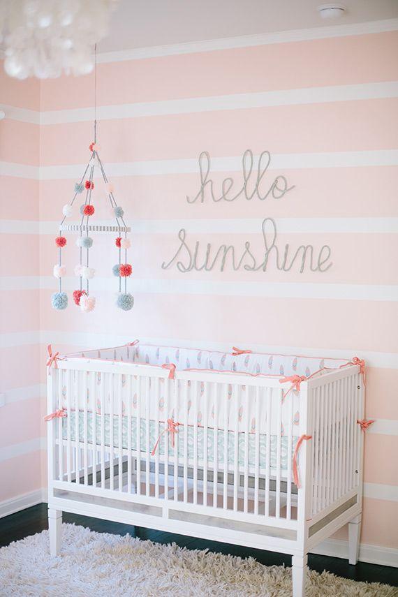 Best Nursery decor ideas #nursey mid century modern furniture #babyroom baby room #softcolors soft colors www.circu.net