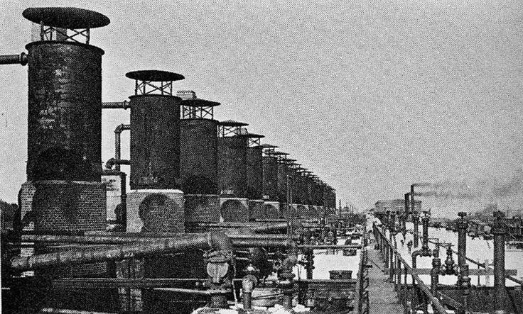 Standard Oil Refinery Linden 1909