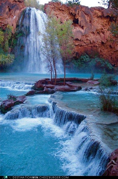 Destination WIN!: Havasu Falls, Grand Canyon National Park