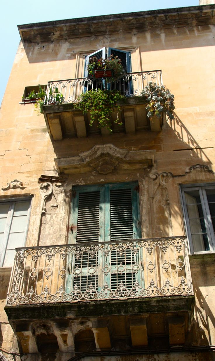 Authentic Italian balcony