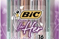 September 1, 2012  BIC Pens For Her and Other Unnecessarily Gendered Products  http://cratesandribbons.com/2012/09/01/bic-pens-for-her-and-other-unnecessarily-gendered-products/