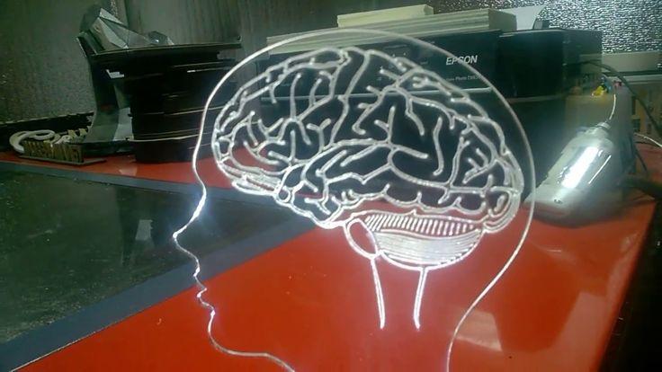 """Светодиодный ночник """"Голова с Мозгами"""""""