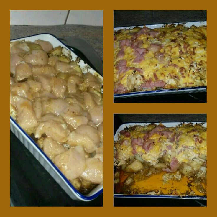 Loaded Potatoes& Buffalo Chicken Casserole