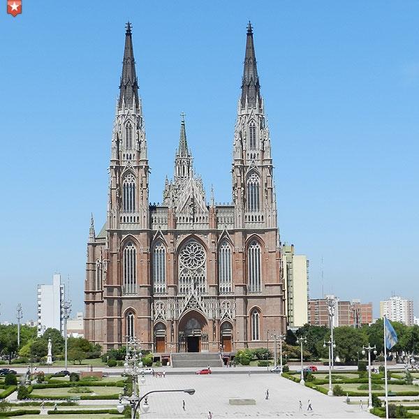Catedral de la ciudad de La Plata, Buenos Aires, Argentina. #Catedral #Cathedral