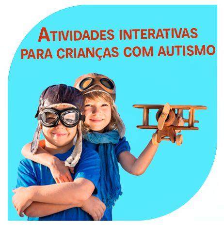 Atividades interativas para pessoas com autismo - exemplos de atividades educacionais divertidas para promover o desenvolvimento de habilidades sociais.