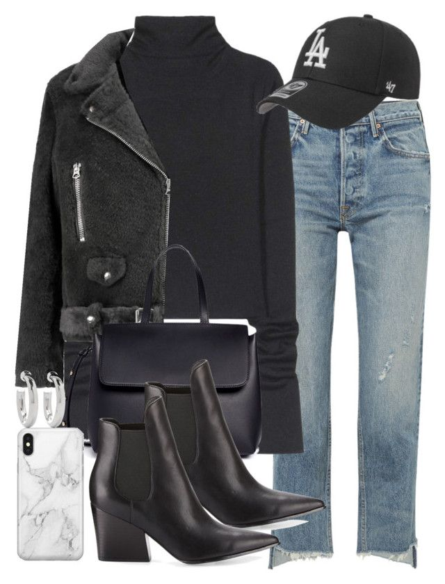 """""""Sin título #4607"""" by hellomissapple on Polyvore featuring moda, GRLFRND, Acne Studios, Mansur Gavriel, Kendall + Kylie, Recover y Sophie Buhai"""
