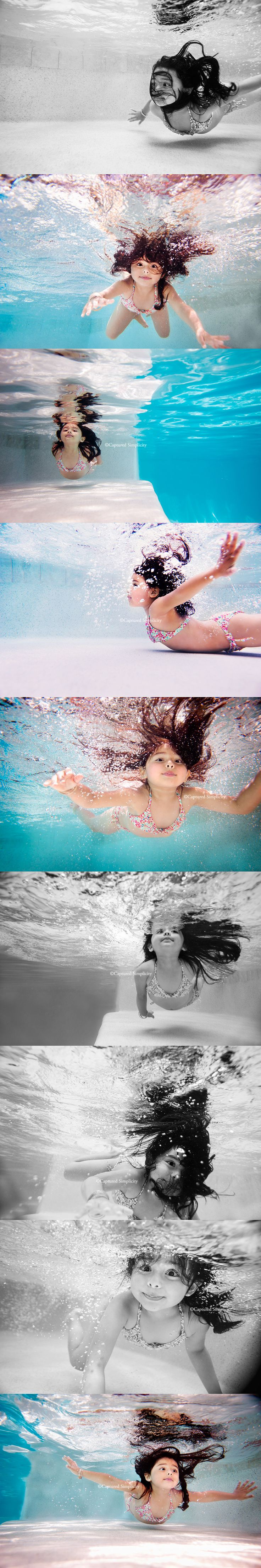 underwater child photographer Houston, Texas photos of children swimming underwater photography