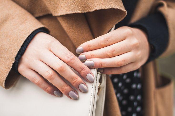 hybrydy efekt syrenka paznokcie / hybryd nails syren effect