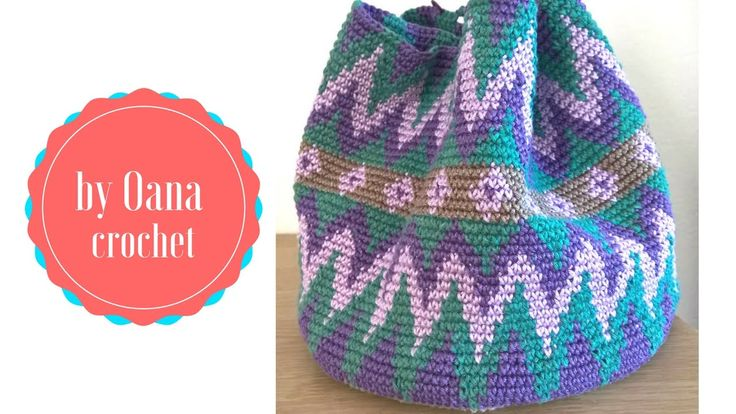The series of tapestry crochet continues with the bag or basket project, in this tutorial Oana explains how to follow a graphic and to change colours subscri...