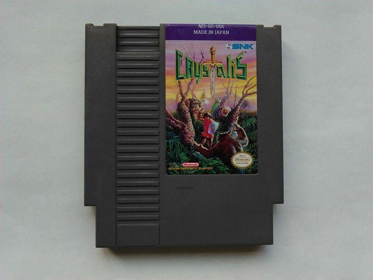 Crystalis for Nintendo NES Game Cart, Tested, NTSC USA, GC