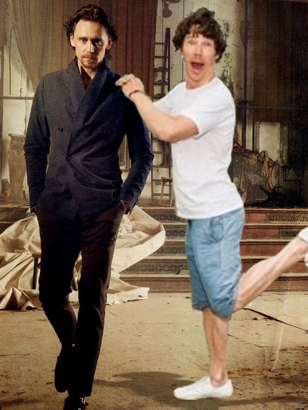 #HiddleBatching   This Is The Best Photo Of Benedict Cumberbatch Of All Time - I don't even.... :')