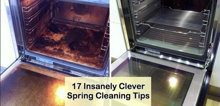 17 Insanely Clever Spring Cleaning Tips
