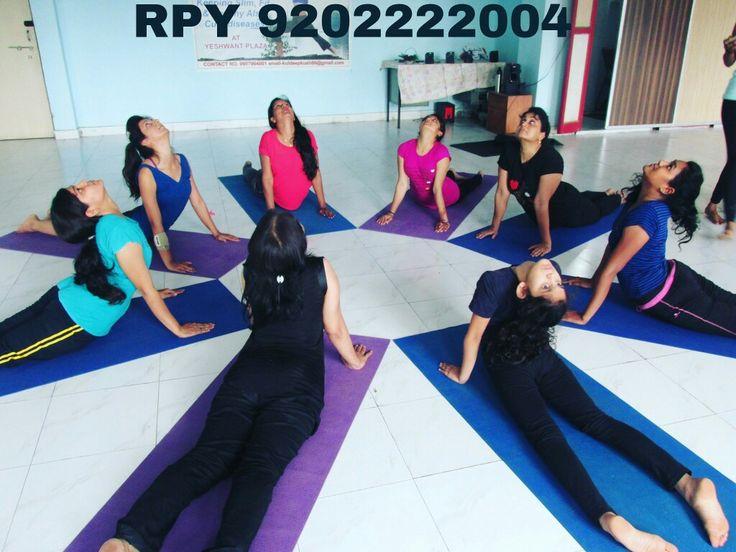 Bhujangasan for back pain (Rhythmic Power Yoga)