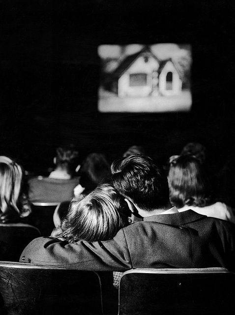 Leen, Nina (1914c.-1995) 1944 Teenagers in a Movie Theater by RasMarley, via Flickr