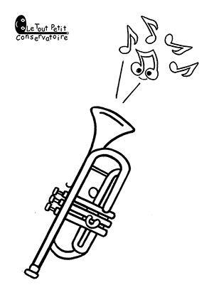 138 best Dessins, coloriages d'instruments de musique