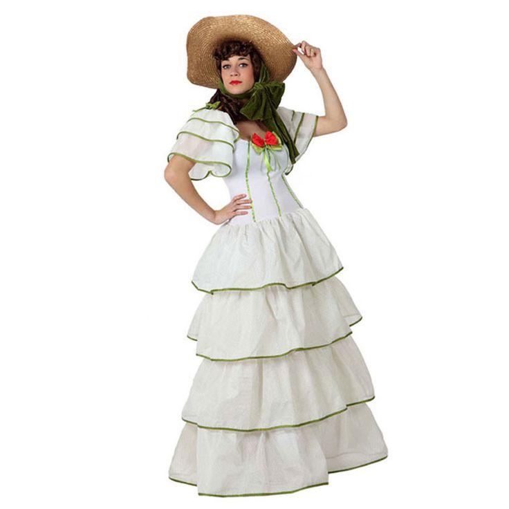 Disfraz de Dama Sureña Blanca #carnaval #novedades2016