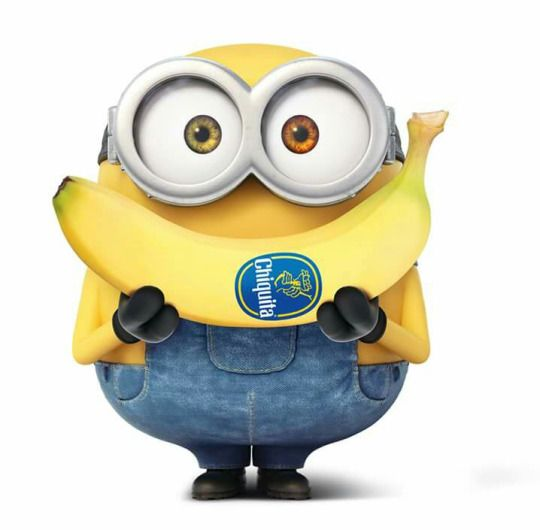 Chiquita Banana Minion Smile!