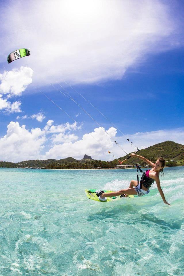 Kite-surfing heroine  #kitesurfing   http://www.blueprinteyewear.com/ hypergo #watersports Best wipes for sports Go to hypergo.com