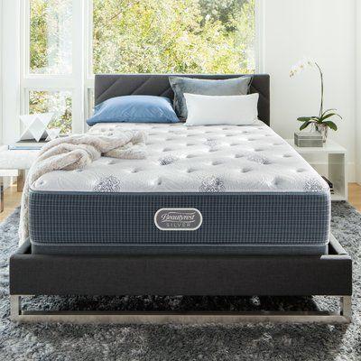 """Simmons Beautyrest Long Beach Island 13.5"""" Plush Pillow Top Innerspring Mattress Size: California King"""