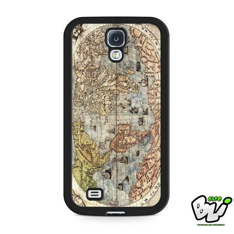 Old Classic World Map Samsung Galaxy S4 Case