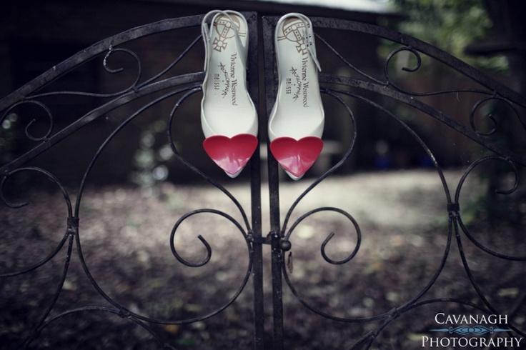 Vivienne Westwood wedding shoes. Image: Cavanagh Photography http://cavanaghphotography.com.au