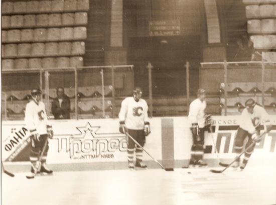 The Flames participated in the 1989 Friendship Tour in Europe, playing against teams from the USSR and the Czechoslovakian national team!
