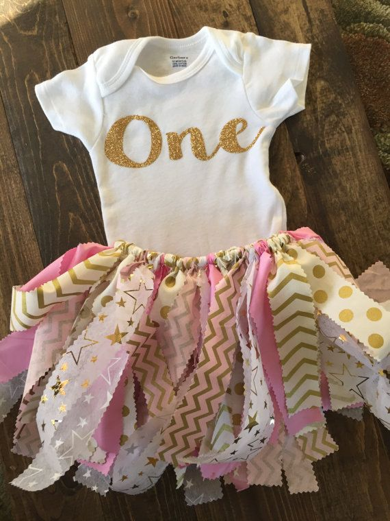 Fabric Tutu Outfit Twinkle Twinkle Little Star  by JaxDesigns27