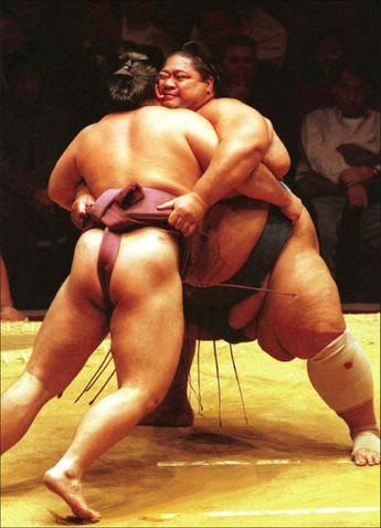 naked young sumo wrestler