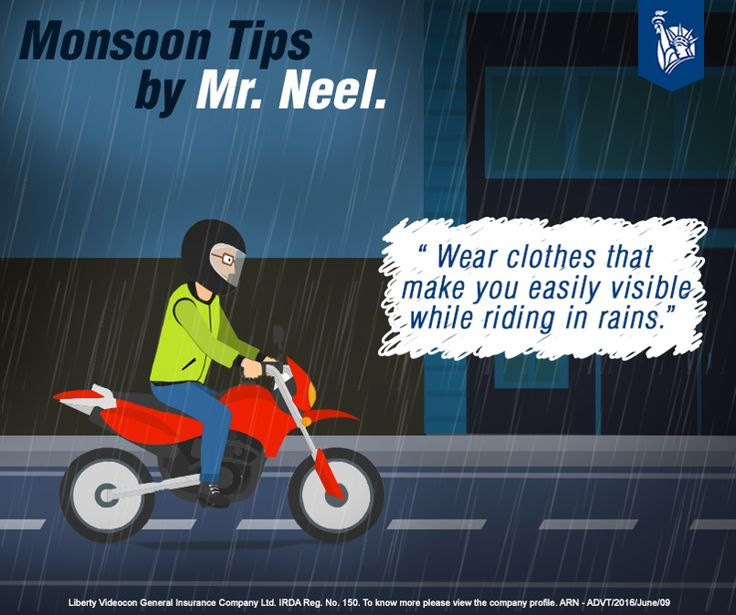 During monsoons, people's vision tends to get blurred. Mr Neel wears bright clothes, which makes him more visible and helps people see him on the road.