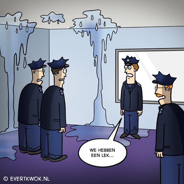 Ondertussen bij de politie... -Evert Kwok