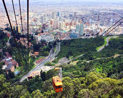 Bogota, Colombia. Will be going there next month!