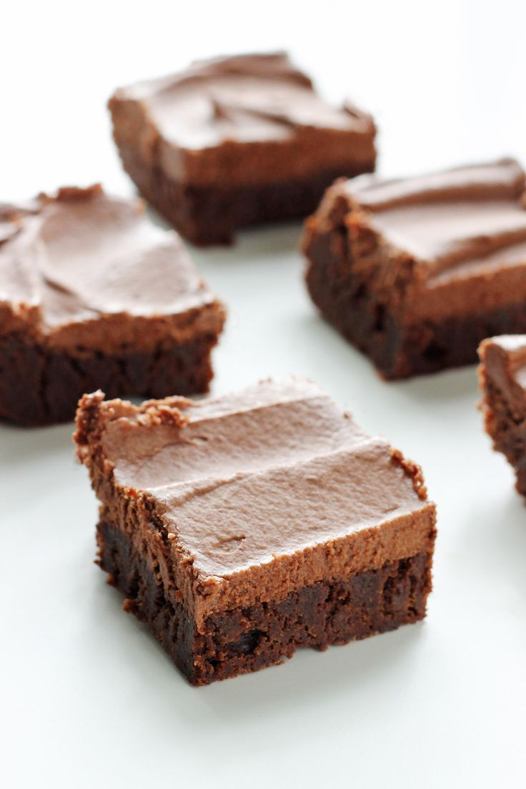 Classic Fudge Brownies with Milk Chocolate Frosting!! | Sweet Recipes ...