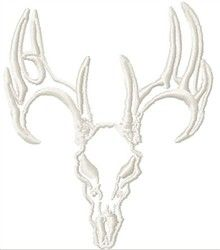 Deer Skull Outline
