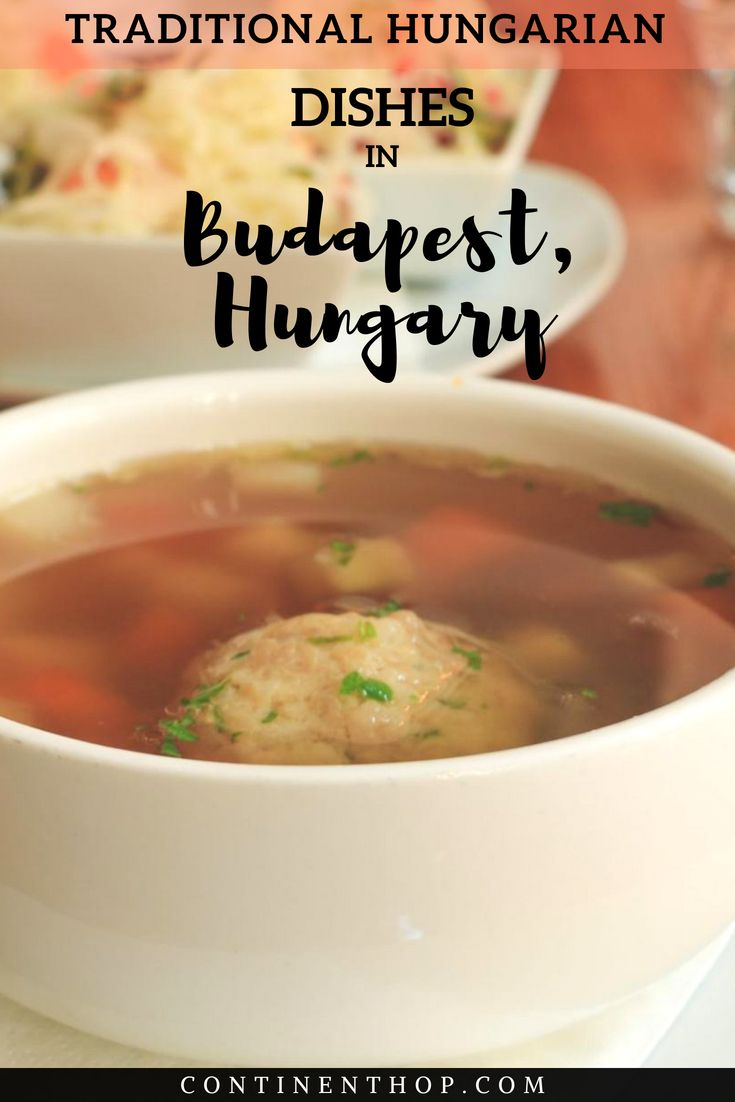 If you're wondering what to eat in Budapest, or about things to eat in #Budapest this article provides info on #traditional #food you must try in Budapest #Hungary, especially #jewish food, food tours, #eating tours, walking tour of budapest hungary