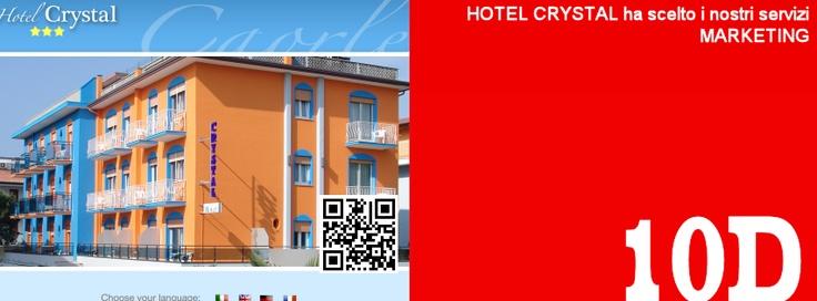 L'Hotel Crystal di Caorle rinnova i servizi web marketing http://www.hotelcrystal.net/
