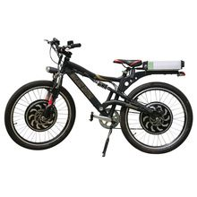 Gigante Marca, 2000w doble Electric Mountain Bike con la Magia Pie 3 Hub Motor