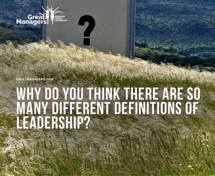 Have you thought about it? #leadership #management #inspiration #success #focus #greatmanagers