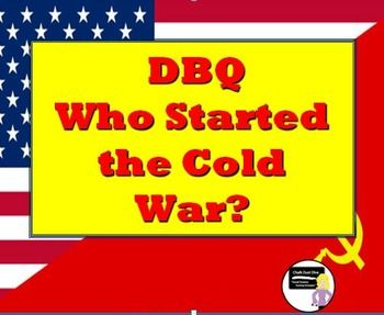 5 paragraph essay about the cold war