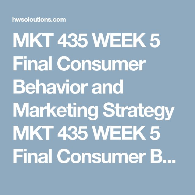mkt 435 consumer behavior Do you really want to delete this prezi neither you, nor the coeditors you shared it with will be able to recover it again delete cancel.