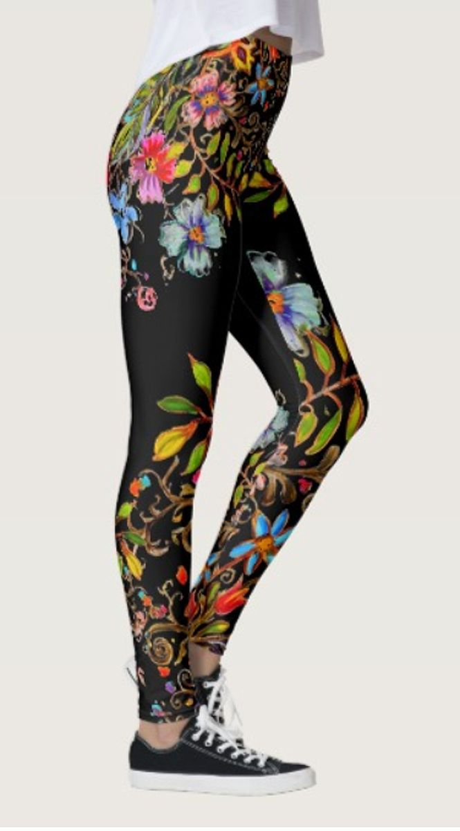 Boho Garden Leggings - Sweet.