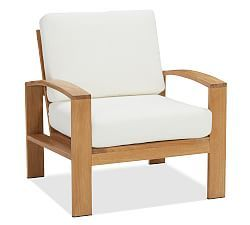 Madera Teak Outdoor Furniture Collection   Pottery Barn