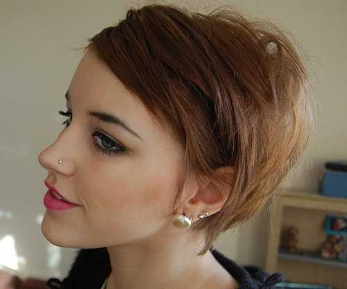 Cortes de pelo corto para adolescentes - Cosas de